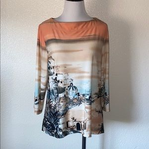 Investment Greece blouse 2/$15